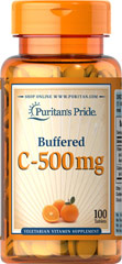 Buffered Vitamin C-500 mg Calcium Ascorbate  100 Tablets 500 mg $8.99