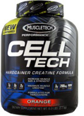 Cell-Tech Hardgainer Orange  5.95 lb Powder  $52.99