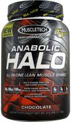 Anabolic Halo Performance Series Chocolate  2.4 lbs Powder  $42.99