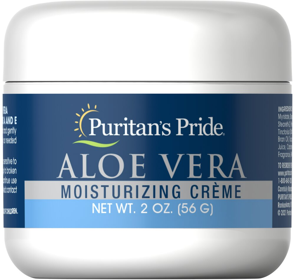 Aloe Vera Natural Moisturizing Crème <p>Light enough to use as a make-up base.</p><p>Topical formulas go on clean, and leave no greasy residue</p><p>Hydrates your skin, enhancing a beautiful complexion</p><p>Softly moisturizes and protects</p><p>Rejuvenates your skin, leaving it fresh and supple</p><p>Enjoy the silky softness of your Aloe-enriched skin</p><p>Now you can exude youthful radiance and let your skin li