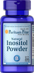 Inositol Powder 1000 mg Natural <p>Essential for Cells and Brain Function**</p><p>Inositol is an essential component of cell membranes, and plays an important role in cell growth and function.**<p> 2 oz Powder 1000 mg $8.99