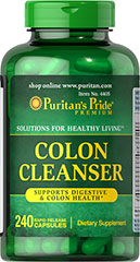 Colon Cleanser <p>Uses the goodness harvested from fruits, botanicals and grains to help cleanse your colon.**</p><p> Adults can take four to six capsules 30-60 minutes before meals.</p> 240 Capsules  $19.79