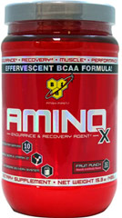 Amino X Fruit Punch  15.3 oz Powder  $19.99