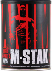 Animal M-Stak <p><strong>From the Manufacturer:</strong></p><p>Animal M-Stak is manufactured by Universal Laboratories</p> 21 Packs  $39.99