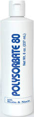 Polysorbate 80 with Biotin & Niacin <p><b>New Discovery!</b></p><p>POLYSORBATE 80 with Biotin and Niacin is a form of Sorbitol and when combined with Oleic acid, POLYSORBATE 80 loosens dry skin and emulsifies the waxy build-up on the scalp.  Used before shampooing, POLYSORBATE 80 may be the answer to your prayers.</p> 8 oz Shampoo  $13.99