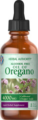 Oil of Oregano Liquid Extract <p>Oil of Oregano is an herbal product that has been used since Biblical times.  It was widely used in ancient Greece for many medical purposes.</p> 1 fl oz Liquid 4000 mg $20.59