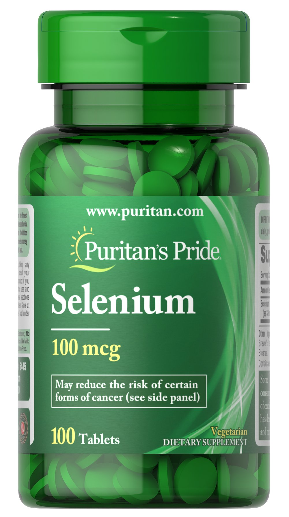 Selenium 100 mcg <p>Selenium is an essential trace mineral that supports the immune system.** </p><p>Adults can take one tablet daily with a meal.</p>  100 Tablets 100 mcg $6.29