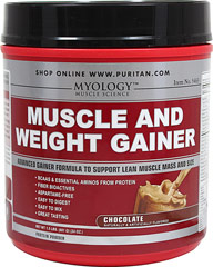 Muscle & Weight Gainer Chocolate Myology™ Muscle & Weight Gainer was designed for anyone who is serious about gaining quality mass and strength, but doesn't want to sacrifice the quality of their nutrition plan. Each serving has been specially designed<br />to provide your body with exactly what it needs to recover from intense training and come back stronger than ever.**<br />Myology™ Muscle & Weight Gainer is formulated to work as hard as you do. It contains