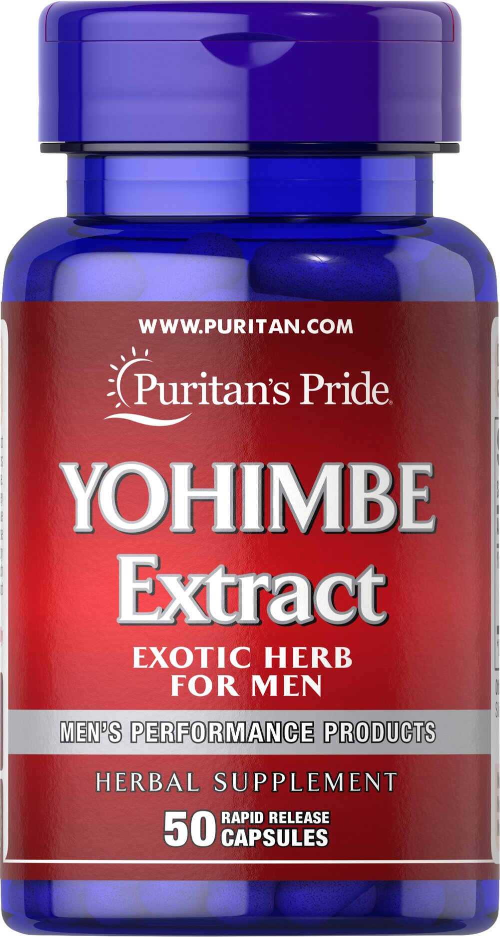Yohimbe 2000 mg <p>2000 mg 4:1 Extract</p><p>We are proud to bring you Yohimbe 2,000 mg. Look to Puritan's Pride for high quality products and great nutrition at the best possible prices.</p> 50 Capsules 2000 mg $12.99