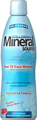Dr. Powers Mineral Source <p>Trace Minerals are essential minerals for health.** Dr. Powers Colloidal Mineral Source contains zinc, selenium, manganese and chromium for nervous system health, energy metabolism and immune system support. **</p><p>Once Per Day</p><p>Fast Acting Liquid</p><p>Over 70 Trace Minerals</p><p>Pleasant Cherry Taste</p> 32 oz. Liquid  $26.99