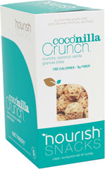 Coconilla Crunch Granola Bites <p><strong>From the Manufacturer:</strong></p><p>One taste of these crispy, crave-worthy gems and I guarantee you'll be in love at first bite. Their perfect blend of toasted coconut and premium oats makes for an alluring, pop-in-your-mouth munchie.</p> 5 Each  $6.99