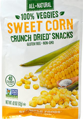 Sweet Corn Crunch Dried Snack  1.3 oz Bag  $5.99