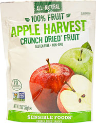 Organic Apple Harvest Crunch Dried Fruit Snack  1.3 oz Bag