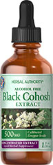 Black Cohosh Liquid Extract <p>Black Cohosh may help with hot flashes.  Available in Alcohol Free Liquid Herbal Extract.</p> 1 fl oz Liquid 500 mg $12.99