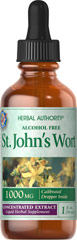 St. John's Wort Liquid Extract <p>St. John's Wort has been used for centuries as a tonic and is clinically proven to promote mental well-being and peaceful mood.** At 900 milligrams per day, St. John's Wort can help maintain a positive mood and is perfect for anyone experiencing occasional anxiety and everyday stress.**</p> 1 fl oz Liquid 1000 mg $13.39