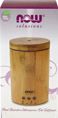 "Bamboo Ultrasonic Oil Diffuser <table border=""0"" cellpadding=""0"" cellspacing=""0"" height=""432"" width=""592""><colgroup><col width=""302"" /></colgroup><tbody><tr height=""30""><td class=""xl72"" height=""30"" style=""height:22.5pt;width:227pt;"" width=""302""><p><strong>From the   Manufacturer:</strong></p><p>NOW® Solutions Re"