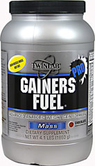 Gainers Fuel Pro Chocolate <p><strong>From the Manufacturer's Label: </strong></p><p>We are proud to bring you Gainers Fuel Pro Chocolate from Twinlab.  Look to Puritan's Pride for high-quality national brands and great nutrition at the best possible prices.</p> 4.1 lbs Powder  $18.49