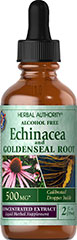 Echinacea/Goldenseal Liquid Extract <p>Supports Healthy Immune Function**</p> <p>Echinacea and Goldenseal Root help support healthy immune function.**</p> 2 oz. Liquid  $13.99