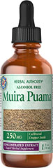 Muira Puama 250 mg <p>Goodness from the Rain Forest</p><p>This exceptional herb has been used in South America. It is primarily known as an herb for men.<br /></p> 1 fl oz Liquid 250 mg $11.99