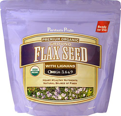 Organic Cold Milled Ground Flax Seed  15 oz Ground  $13.99