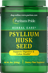 Psyllium Husk Seed 100% Natural <p>An excellent source of fiber</p>  <p>Keep your digestion running smoothly**</p>  <p>Helps maintain blood sugar levels already within a normal range**</p>  <p>Diets rich in fiber make for a healthier heart**</p><p>Psyllium Husk is rich in soluble fiber, just what your body needs to get the most from what you eat, and keep your digestive tract moving smoothly.** </p> 8 oz Powder 7000 mg $11.99