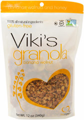 "Banana Walnut Granola <table border=""0"" cellpadding=""0"" cellspacing=""0"" height=""133"" width=""531""><colgroup><col width=""343"" /></colgroup><tbody><tr height=""53""><td class=""xl2353"" height=""53"" style=""height:39.75pt;width:257pt;"" width=""343""><p><strong>From  the Manufacturer:</strong></p><p>Viki's All Natural and si"