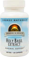 Holy Basil Extract 450 mg <p><strong>From the Manufacturer:</strong></p><p>Holy Basil is one of the primary botanicals used in Ayurvedic practice in India.  It is a powerful adaptagen that helps your body adapt to the negative effects of stress.</p> 60 Capsules 450 mg