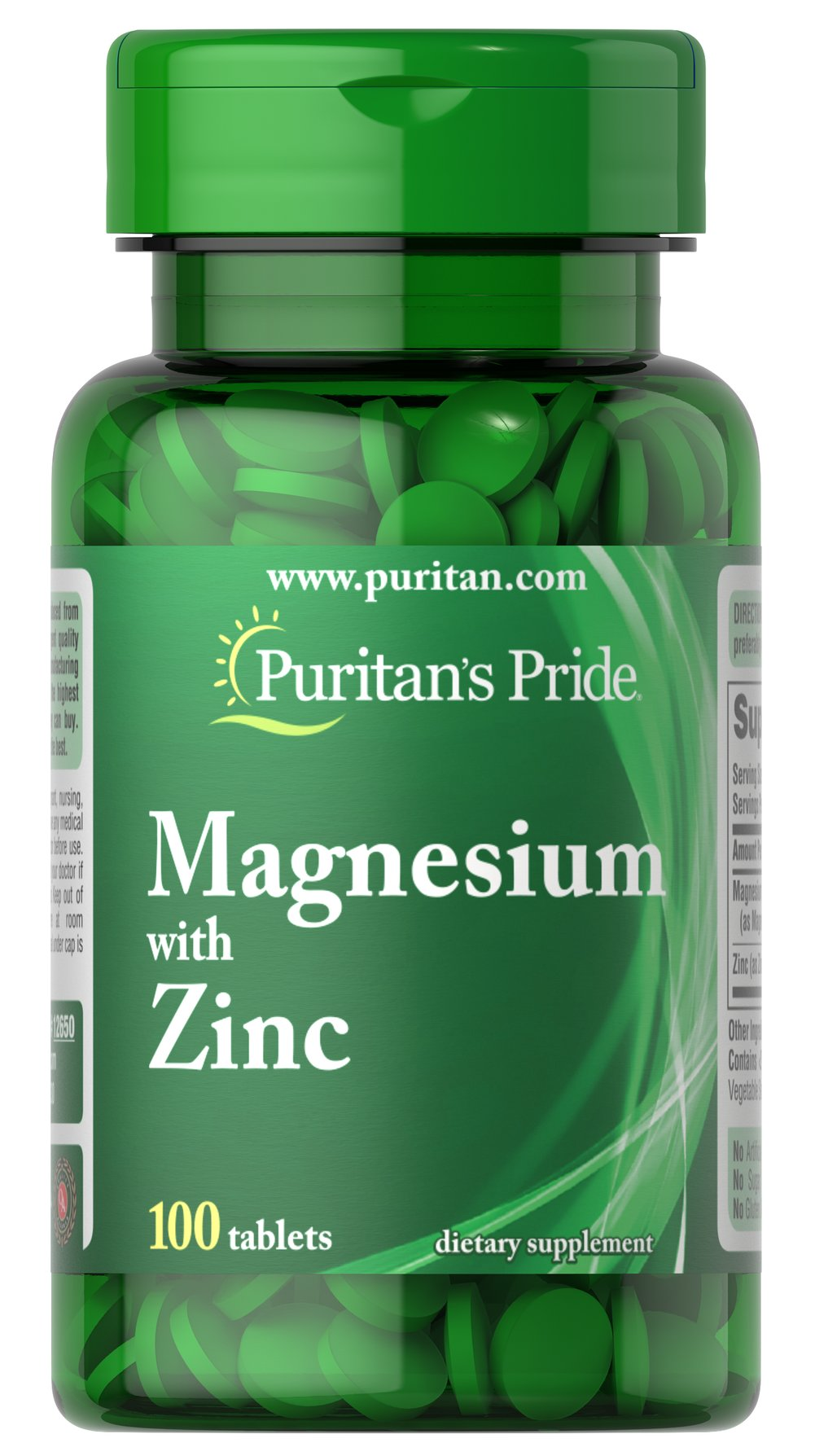 Magnesium with Zinc <p>Minerals are important constituents of any healthy diet.  This supplement is a good source of the Magnesium and Zinc you need everyday for health.** Magnesium helps with bone health, muscle contraction and nervous system promotion.** Zinc is great for immune system health and cell growth.** Together, they make up a quality supplement that ensures a sufficient daily intake of these important nutrients.**</p> 100 Tablets 266 mg/10 mg $6.99