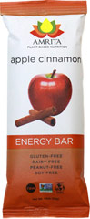 "Apple Cinnamon Health Bars <table border=""0"" cellpadding=""0"" cellspacing=""0"" height=""149"" width=""583""><colgroup><col width=""226"" /></colgroup><tbody><tr height=""29""><td height=""29"" style=""height:21.75pt;width:170pt;"" width=""226""><p><strong>From  the Manufacturer:      </strong></p><p>Apple Cinnamon Energy Bar – As American as"