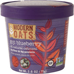 "Goji Blueberry Oatmeal Cups - 12 Cups <table border=""0"" cellpadding=""0"" cellspacing=""0"" height=""144"" width=""551""><colgroup><col width=""226"" /></colgroup><tbody><tr height=""25""><td class=""xl66"" height=""25"" style=""height:18.75pt;width:170pt;"" width=""226""><p><strong>From  the Manufacturer:</strong></p><p>Get up and go w"