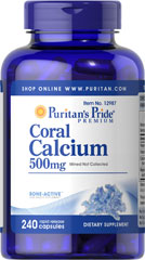 Coral Calcium Complex <p>Today's modern farming and food processing methods can often deplete valuable minerals from our diet. Our Coral Calcium formulation includes Coral Calcium, Magnesium and Vitamin C for bone health, plus Vitamin D to aid in Calcium absorption.** The Coral Calcium in this product is mined, not collected, from an above ground source making it environmentally friendly.</p> 240 Capsules  $29.99