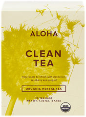 "Organic Clean Tea <table border=""0"" cellpadding=""0"" cellspacing=""0"" height=""72"" width=""507""><colgroup><col width=""343"" /></colgroup><tbody><tr height=""33""><td class=""xl2353"" height=""33"" style=""height:24.95pt;width:257pt;"" width=""343""><p><strong>From the Manufacturer:</strong></p><p>Known  for their purifying properti"