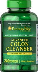 Advanced Colon Cleanser <p>Promotes regularity**</p><p>Provides digestive cleansing support throughout the day**</p><p>Works with the natural flow of your body to help maintain colon health**</p><p>Supplies a source of fiber, an important part of a healthy diet.</p> 240 Capsules  $29.99