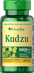 Kudzu 500 mg <p>Kudzu is a thick, high-climbing perennial vine that has a long history of use in traditional Chinese health practices. The root of Kudzu contains beneficial isoflavones such as daidzein, and isoflavone glycosides and puerarin. This formula is an excellent choice for vegetarians, and also provides a good source of Calcium.</p> 60 Caplets 500 mg $9.99