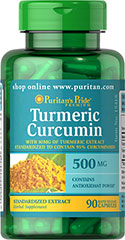 Turmeric Curcumin 450 mg <p>The active ingredients in Turmeric include beneficial flavonoids called Curcuminoids, which are plant-based antioxidants. **</p><p>Contains antioxidants</p> 90 Capsules 450 mg $14.99