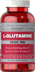 L-Glutamine 1000 mg <p>Important fuel for your muscles and immune system**</p><p>Serves as the primary source of energy for intestinal cells**</p><p>Supports exercise recovery**</p><p>Glutamine Capsules provide an array of benefits that extends beyond those you feel at the gym. Glutamine is a crucial component of muscle cells that is utilized as a cellular fuel, especially in the muscles, and supports protein metabolism and recovery from exercise.** Glut