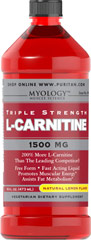 L-Carnitine 1500 mg Lemon <p>Our Triple Strength liquid formula is fast acting, comes in delicious natural lemon, watermelon, or grape flavor.</p><p>Promotes muscular energy and is important for heart health.**</p><p>Contributes to energy production.**</p><p>Provides support for fat metabolism.**</p><p>An easy dose of just one tablespoon a day.</p><p>A perfect choice for vegetarian lifestyles.</p> 16 oz Liquid 1500 mg $17.99