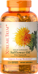 High Linoleic Safflower Oil with Vitamin B6 <p>Our formula combines Safflower Oil, a natural source of linoleic acid, with high potency B6 for energy metabolism.**</p> 224 Softgels  $34.99