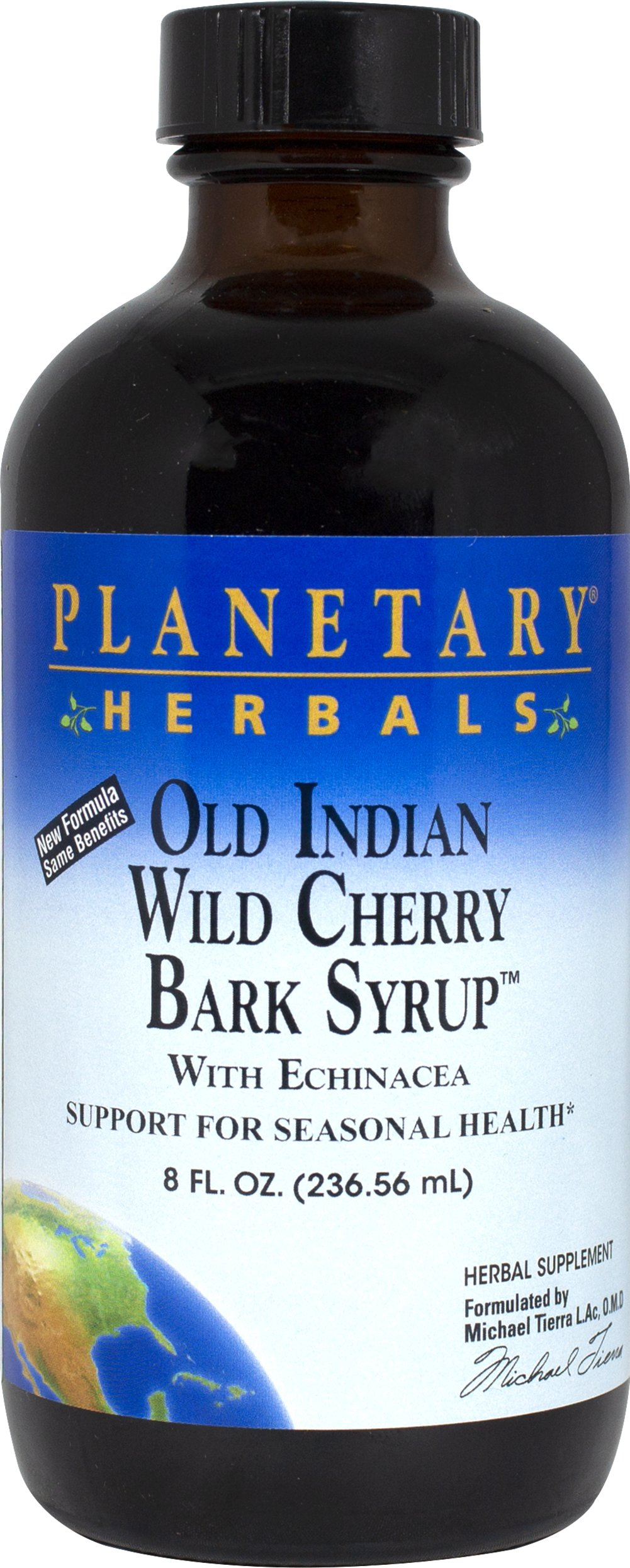 Old Indian Wild Cherry Bark Syrup  8 fl. oz. Liquid  $10.53