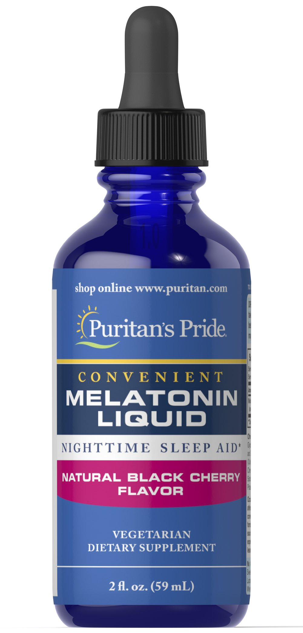Sublingual Melatonin Cherry 1 mg  2 oz Liquid 1 mg $9.49