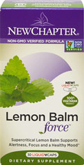 Lemon Balm Force  30 Vegi Caps  $18.99