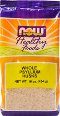 Whole Psyllium Husks  16 oz Bag