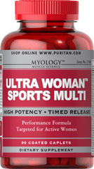 Ultra Woman™ Sports Multi Vitamin Performance Formula Targeted for Active Women 90 Caplets  $17.99
