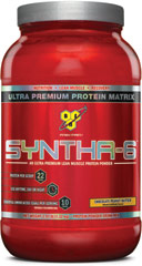 Syntha-6 Chocolate Peanut Butter <p><strong>From the Manufacturer's Label: </strong></p><p>Designed for individuals who want an ultra-premium protein powder that will help them reach their nutritional and physical goals. These products are free of aspartame and are available in the following flavors: Chocolate, Vanilla, Strawberry Chocolate Peanut Butter, Cookies & Cream and Mochaccino.</p><p>Manufactured by BSN®.</p> 2.91 lbs Powd