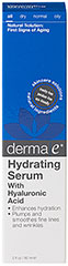 Derma E® Hyaluronic Acid Rehydrating Serum  2 oz Serum  $23.60