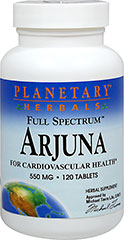Arjuna 550 mg Full Spectrum™ <p></p><strong>From the Manufacturer's Label:</strong><br /><br />For Cardiovascular Health**<br /><br />Terminalia Arjuna is a deciduous tree found throughout India, the bark of which has been used in traditional Ayurvedic herbalism to support cardiovascular health for over three centuries. According to animal research, Terminalia arjuna may help maintain healthy phospholipid and triglyceride levels already within a no