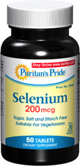 Selenium 200 mcg Kosher <p><b>An Essential Mineral Now Available for Kosher & Vegetarian Customers!</b></p><p>A powerful antioxidant that helps fight cell-damaging free radicals caused by stress, pollution, improper diet and more**</p><p>An integral part of thyroid metabolism and function**</p><p>Supports prostate health**</p><p>Prepared under KOF-K Kosher Supervision</p> 50 Tablets 200 mcg $11.99