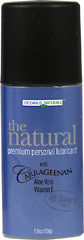 The Natural™ Premium Personal Lubricant <P><B>From the Manufacturer's label</B></P><P>The Natural premium personal lubricant with carrageenan is manufactured by Oceanus Naturals</P><P>The Natural's silky smooth texture is soft to the touch, never sticky, enhancing sensual moments</P><P>This all natural lubricant features the ingredient carrageenan</P>Aloe and Agave extract (inulin) are added to soothe and support a healthy micro
