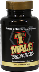 T Male™ <p><strong>From the Manufacturer's label</strong></p><p>T Male Capsules is manufactured by Natural Organics Laboratories, Inc. makers of Nature's Plus</p> 60 Capsules  $21.99
