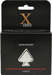 X Drive Timely Enhancement Capsules <P><B>From the Manufacturer's label</B></P><P>X Drive Timely Enhancement Capsules is Owned and Manufactured for DreamBrands, Inc.</P>  12 Tablets  $19.99